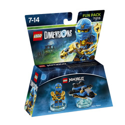 WARNER BROS - Lego Dimensions Fun Pack Ninjago Jay