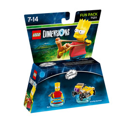 WARNER BROS - Lego Dimensions Fun Pack Simpson Bart