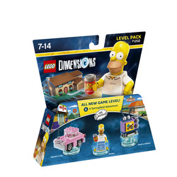 WARNER BROS - Lego Dimensions Level Pack Simpson Homer