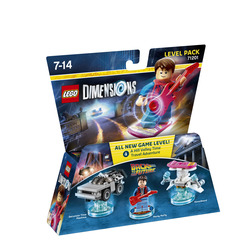 WARNER BROS - Lego Dimensions Level Pack Back to the future