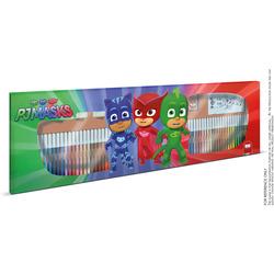 MULTIPRINT - Multiprint Meter Coloring Pjmask, Multicolore, Punta sottile, Multicolore, Tubo, Fine, 60 pezzo(i)