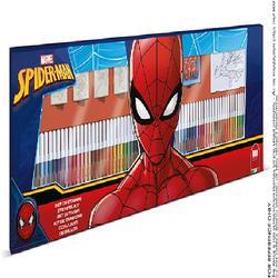MULTIPRINT - Maxi Set Disegna Gioca E Colora Spiderman
