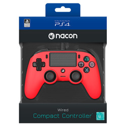 NACON - NACON Controller Wired Rosso PS4