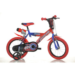 "DINO BIKES - BICI 16"" SPIDERMAN"