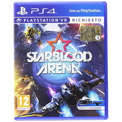 SONY - Sony StarBlood Arena, PS4, PlayStation 4, FPS (First Person Shooter), Modalità multiplayer, T (Teen), Supporto fisico, Casco per Realtà Virtuale (VR) richiesto