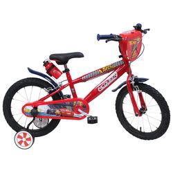 """DENVER - Denver Bike Bici Bambino """"Cars"""", 16"""", Verticale, All-around, 40,6 cm (16""""), Acciaio, Rosso, 40,6 cm (16"""")"""