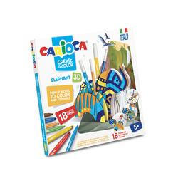CARIOCA - Carioca Create & Color Elefante 3D