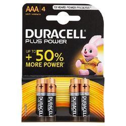 DURACELL - Duracell Plus Power AAA LR03 / MX2400 1.5V Alkaline 4 pz