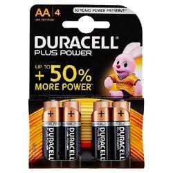 DURACELL - Duracell Plus Power AA LR6 / MN1500 1.5V Alkaline 4 pz