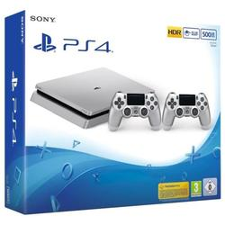 SONY - PS4 500GB SILVER+DS4 SILVER V2