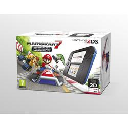 NINTENDO - Nintendo 2DS nero e blu + Mario Kart 7