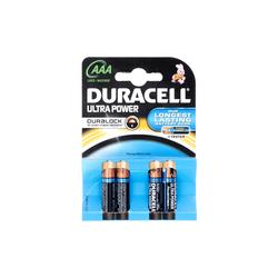 DURACELL - Duracell Ultra Power AAA 1.5V Alkaline 4 pezzi