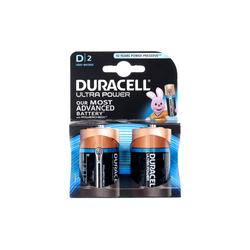 DURACELL - Duracell Ultra Power D 1.5V Alkaline 2 pezzi