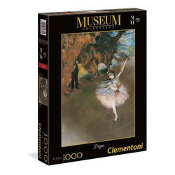 CLEMENTONI - Puzzles 1000 Pezzi Museum Collection