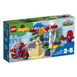 LEGO - 10876 - Le avventure di Spider-Man e Hulk