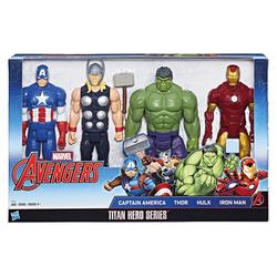 HASBRO - Marvel Titan Hero Set 4 Personaggi