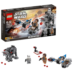 LEGO - 75195 - Ski Speeder™ Contro Microfighter First Order Walker™