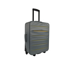 INTERNATIONAL - TROLLEY BICOLOR GRIGIO 49 CM