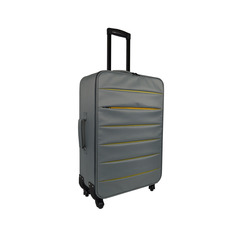 INTERNATIONAL - TROLLEY BICOLOR GRIGIO 64 CM