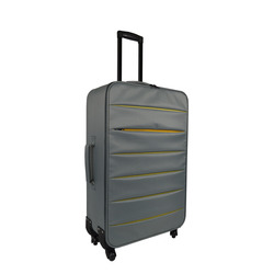 INTERNATIONAL - TROLLEY BICOLOR GRIGIO 74 CM