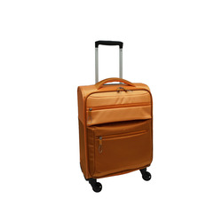INTERNATIONAL - TROLLEY BICOLOR ARANCIONE 55 CM