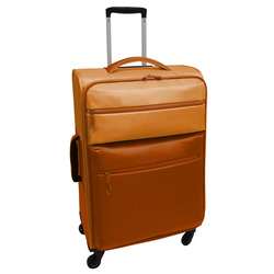INTERNATIONAL - TROLLEY BICOLOR ARANCIONE 78 CM