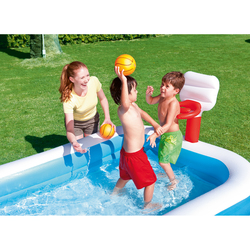 BESTWAY - PISCINA FAMILY BASKETBALL 251x168x102 CM