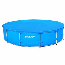 BESTWAY - TELO COPRIPISCINA 366/360 CM HIGH DENSITY