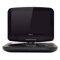 "Qilive - Q.1315, Portable DVD player, Da tavolo, Nero, MP3, CD,CD-R,CD-RW,DVD,DVD+RW,DVD-R,DVD-RW, 22,9 cm (9"")"