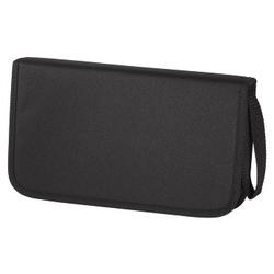 Hama - Borsa porta CD 64 Slot - Wallet Nero