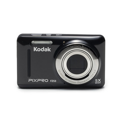 Kodak - PIXPRO FZ53, 16 MP, 4608 x 3456 Pixel, CCD, 5x, HD-Ready, Nero