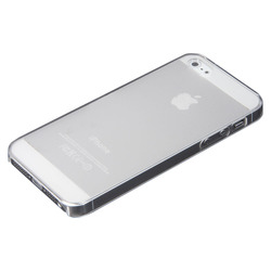 "Selecline - 874031, Cover, Apple, iPhone 5/5S/SE, 10,2 cm (4""), Trasparente"
