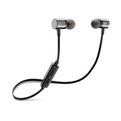 Cellularline - MOTION IN-EAR Auricolari in-ear Bluetooth stereo Nero, Senza fili, Auricolare, Passanuca, Stereofonico, Intraurale, Nero
