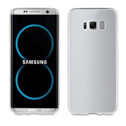 Qilive - Cover morbida trasparente - Galaxy S8+