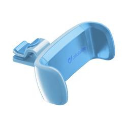 Cellularline - CAR HOLDER - Universale Supporto auto super colorato Blu, Telefono cellulare/smartphone, Auto, Supporto attivo, Blu, Car vent mount,Clamp mount, 360°