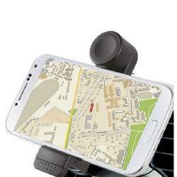 Qilive - Q.9114, Telefono cellulare/smartphone, Auto, Supporto passivo, Nero, Plastica, Silicone, Orizzontale/Verticale