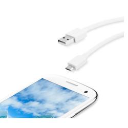 Qilive - MA-2320-E, 0,2 m, USB A, Micro-USB B, 2.0, Bianco