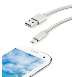 Qilive - MA-2329-A, 1,2 m, USB A, Micro-USB B, 2.0, Argento
