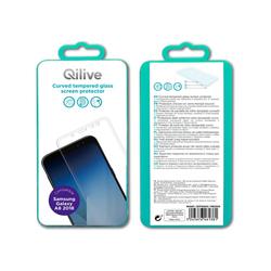 Qilive - Pellicola in vetro - Galaxy A8 2018