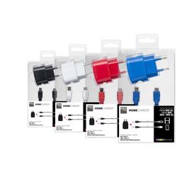 Bigben Interactive - 3DSIXLADAPT, Interno, AC, USB, 5 V, 1,2 m, Nero, Blu, Rosa, Bianco