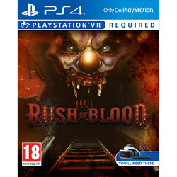 Sony - Until Dawn: Rush of Blood PS4, PlayStation 4, Sparatutto/horror, M (Mature)
