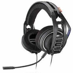 Plantronics - RIG 400HS, Console da gioco, Stereofonico, Padiglione auricolare, Nero, Blu, Sony PlayStation 4, Cablato