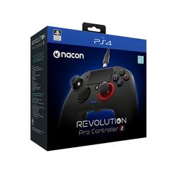 NACON - Revolution Pro 2, Gamepad, PC, PlayStation 4, Analogico/Digitale, D-pad, Casa, Mode, Multi, Con cavo e senza cavo