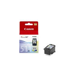 Canon - CL-511, Ciano, Magenta, Giallo, Pixma iP/MP/MX/Pro, Ad inchiostro, 1 pezzo(i), Blister