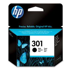 HP - Cartuccia originale inchiostro nero 301, Nero, HP, HP Deskjet 1000, 1050, 1050se, 2000, 2050, 2050se, 3000, 3050, 3050se, 3050ve, Deskjet 1050A,..., Ad inchiostro, Nero, 3 ml