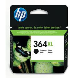 HP - Cartuccia originale inchiostro nero ad alta capacità 364XL, Nero, HP Deskjet 3070A, Deskjet 3520, Officej]et 4620, Photosmart 5510, Photosmart 5515, Photosmart..., CN684EE, Getto termico d'inchiostro, Resa elevata (XL), 550 pagine