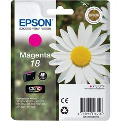 Epson - Cartuccia Magenta, Magenta, Epson - XP-30 / XP-102 / XP-202 / XP-205 / XP-302 / XP-305 / XP-402 / XP-405, Magenta, Resa standard, 1 pezzo(i), 112 x 141,75 x 24 mm