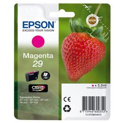 Epson - 29 M, Magenta, Epson Expression Home XP-235/332/335/432/435, Ad inchiostro, Resa standard, 3,2 ml, 180 pagine
