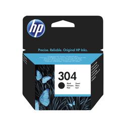 HP - Cartuccia inchiostro originale nero 304, Nero, HP, DeskJet 3720, DeskJet 3730, N9K06AE, Getto termico d'inchiostro, Resa standard