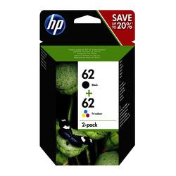 HP - Multipack N9J71AE-HP 62 BK/CL